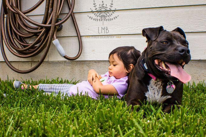 Mai & Luna by LMBphotographyATX - Kids And Pets Photo Contest