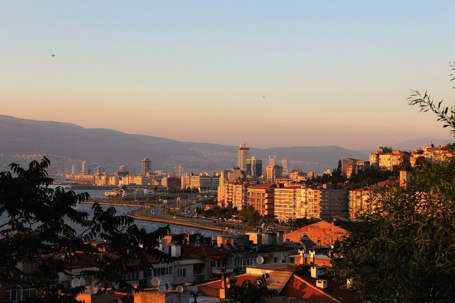 Izmir from Asansör