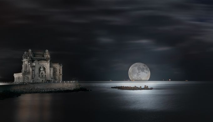 Supermoon in Constanta by AndyMaraloi - The Moonlight Photo Contest