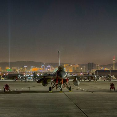 20161114 Nellis Flightline Panorama2