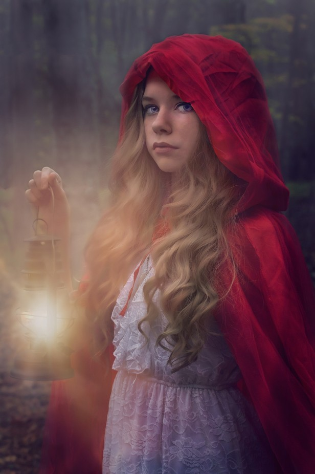 Little Red Riding Hood by micheledeadwyler - Fairytale Moments Photo Contest