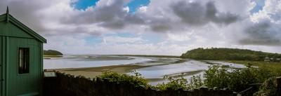Dylan Thomas Shed Panorama