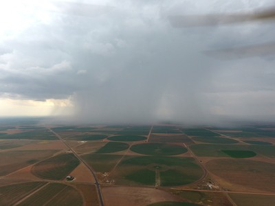 Rain from 1600ft ip