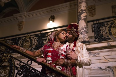 Tinasha and Jaymin's wedding day