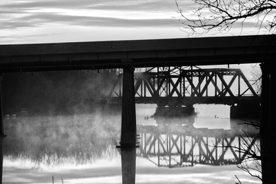 Bridges Misty Dawn