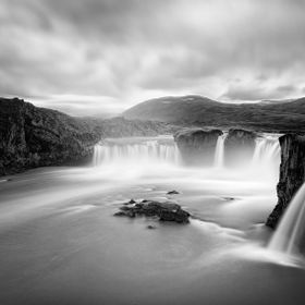"Godafoss, ""waterfall of the gods"", Iceland"