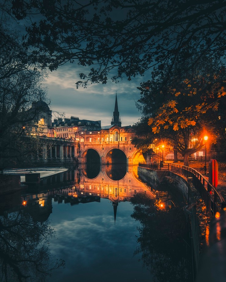 Bath by night.  by LloydEvansPhoto - Night Wonders Photo Contest