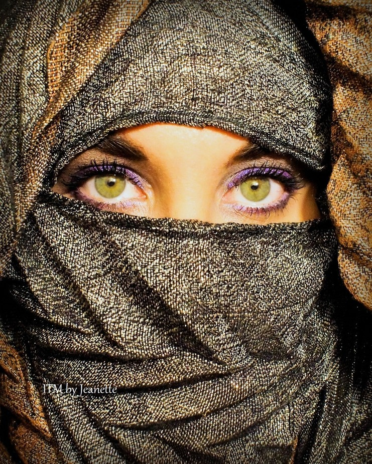 selfie eyes by jeanettesugar - Green Eyes Photo Contest