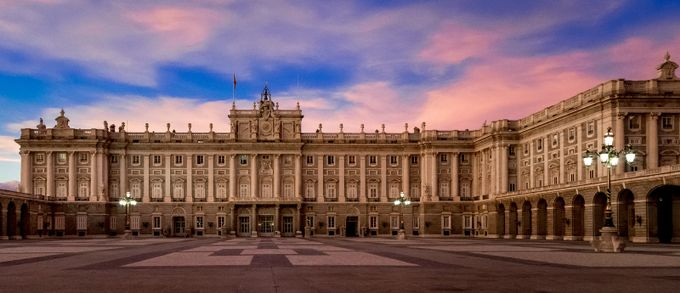 Palacio Real de Madrid by Gambar - Fish Eye And Wide Angle Photo Contest