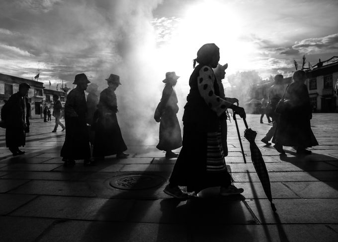 Lhasa, Barkhor Square 2014 by tafazzi66 - Explore Asia Photo Contest
