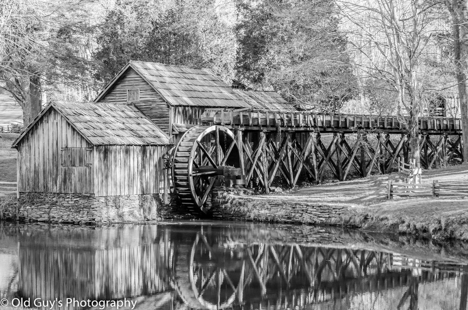 This was a shot taken at the Mabry Mills on the Blue Ridge Parkway in Danville, Virginia. It was ...