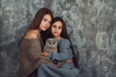 My friends with my Cat   Liliya Nazarova