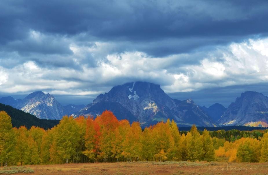 Seasons change - The Grand Tetons