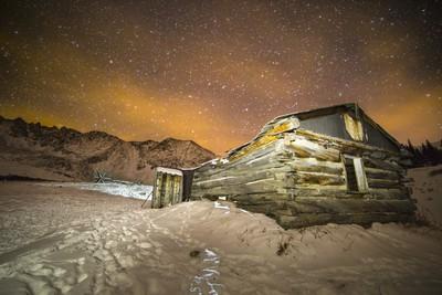 Mayflower Gulch Miner Cabin
