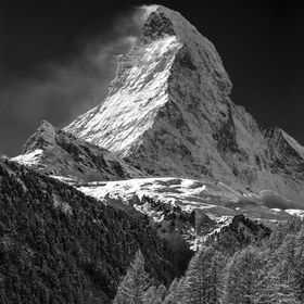 """There it is."" — Karl Marlantes, Matterhorn //Matterhorn, Switserland"