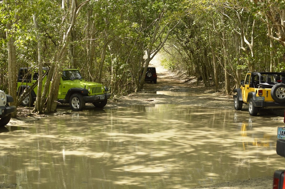 Off the beaten path with a Jeep in St. John, USVI