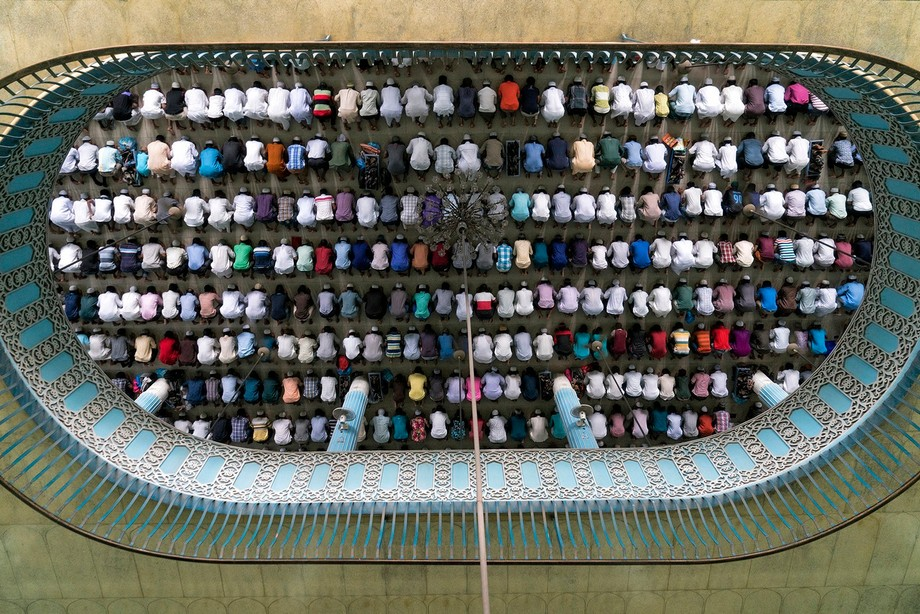 Pray On Mosque