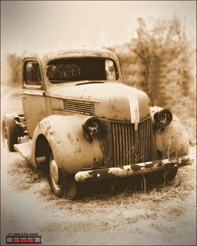 Old Trucks and Old Memories