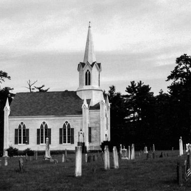 Old New England Church