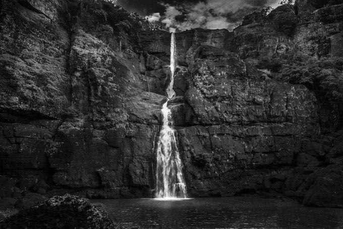 Rouna Falls by adirua - Black And White Landscapes Photo Contest