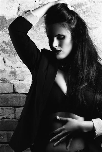 Glamour shot on 35mm film