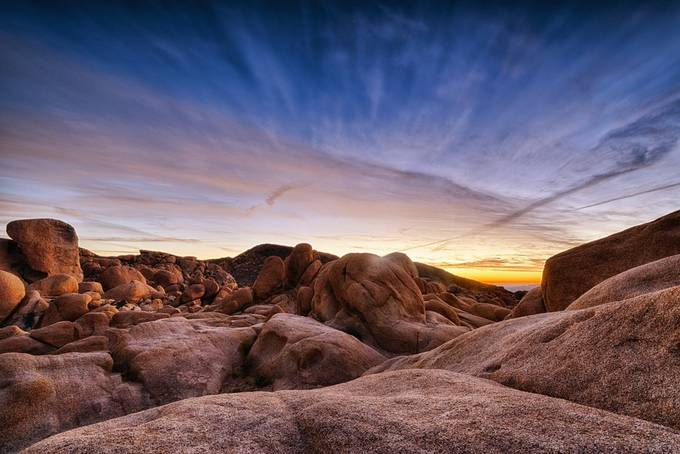 White Tank Campground Sunrise by ChasingLightLikeMad - Boulders And Rocks Photo Contest