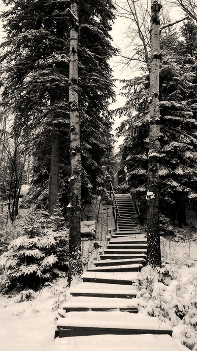 Stairway to Winter