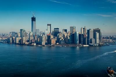 NYC Skyline (aerial)