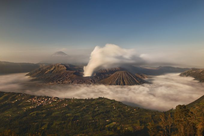The Volcano by ryananta_yossy - Around the World Photo Contest By Discovery