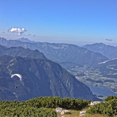 I took this photo when we went up to the top of the Dachstein Mountains in Austria. The scenery was fantastic.