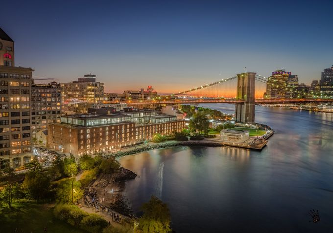 Brooklyn Lights by 1WolfPhotography - City Views Photo Contest
