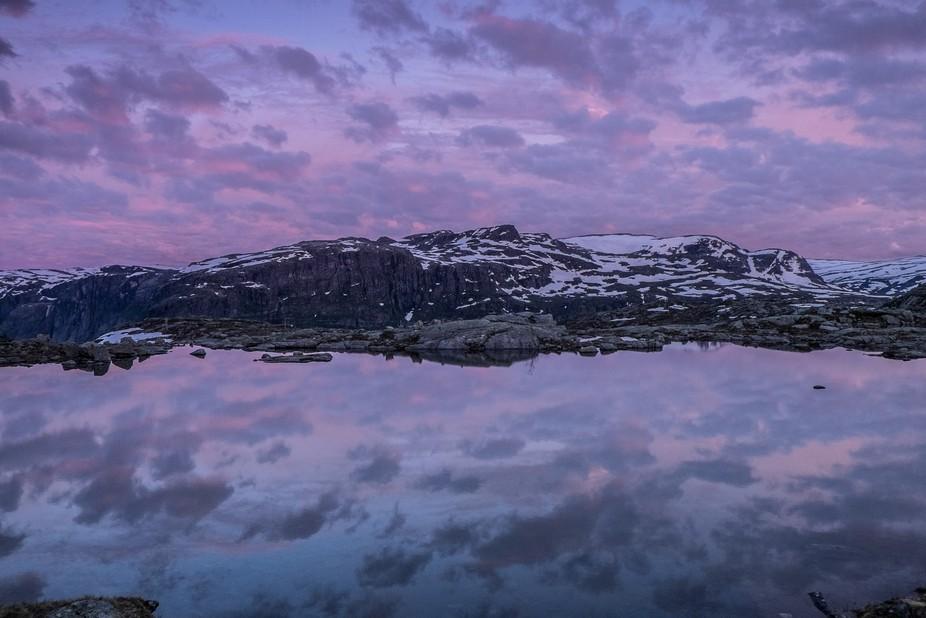 This shot was taken i Norway around 01am