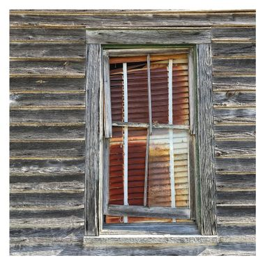 Rusted blinds