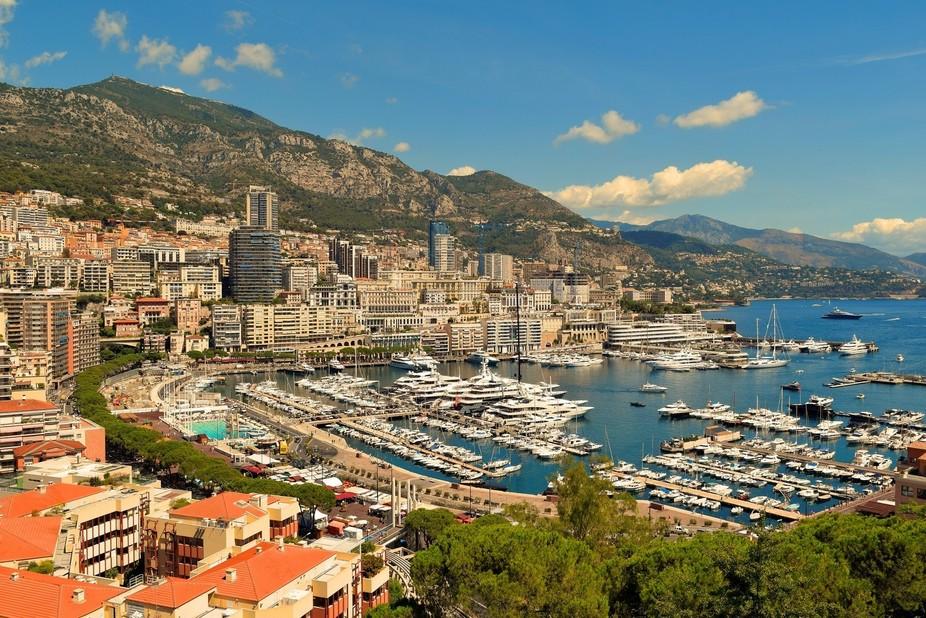 Looking Across Monaco and Monte Carlo
