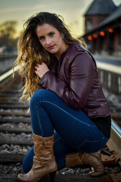 Portrait on the Tracks