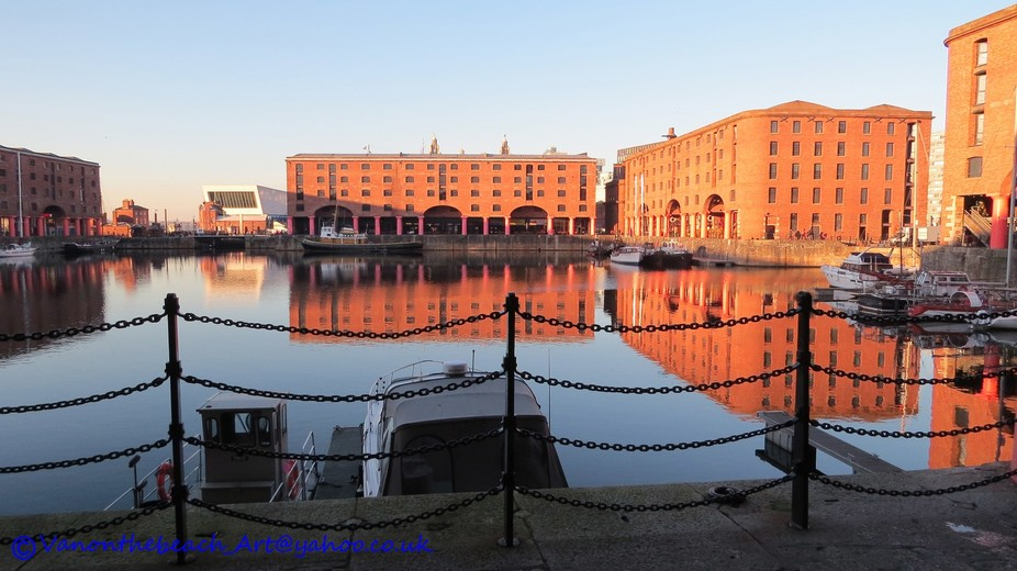 Taken on my recent trip back home to Liverpool. This is the Albert Dock after great renovation in...