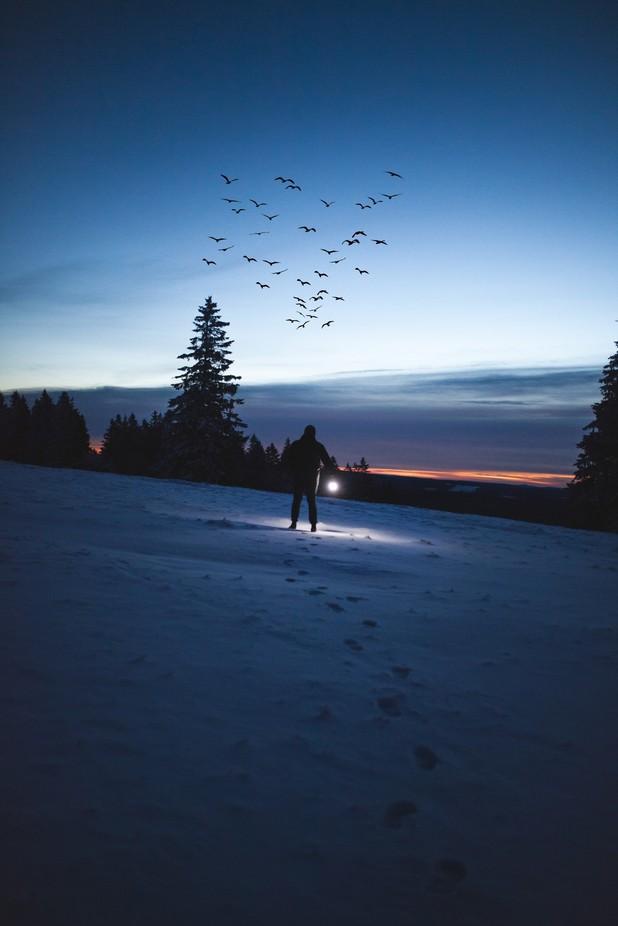 Light in the Dark by mmarriuss - Night Wonders Photo Contest