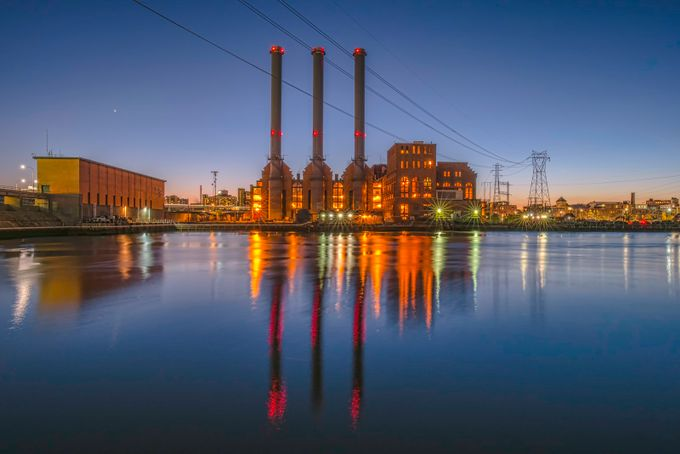 Manchester Street Power Plant by JackHeald - Industry Photo Contest