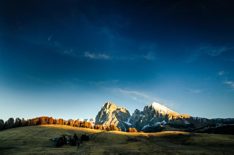 Die Seiser Alm ist eine der wunderschönen Berglandschaften Südtirols.