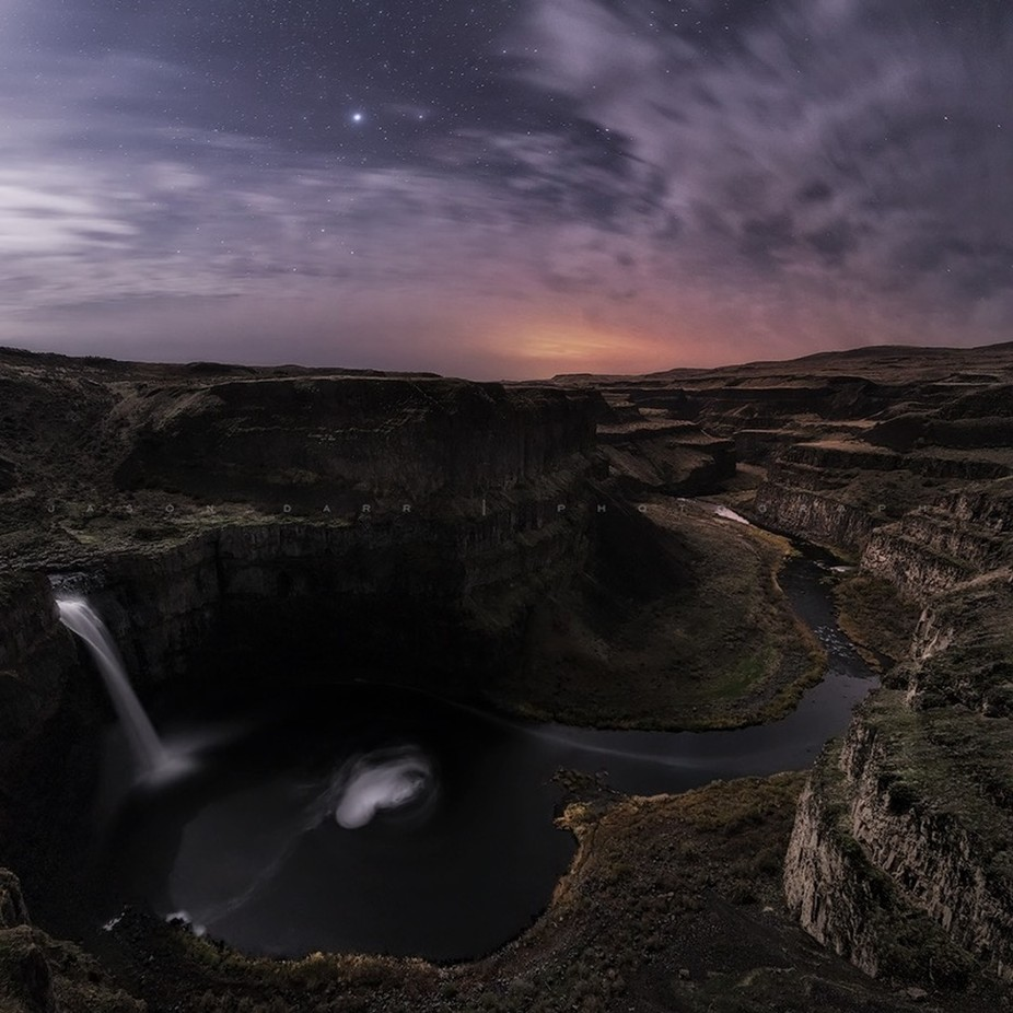 Palouse-Falls-Night-0712-Pano-JDP by jasondarr - Cloudy Nights Photo Contest