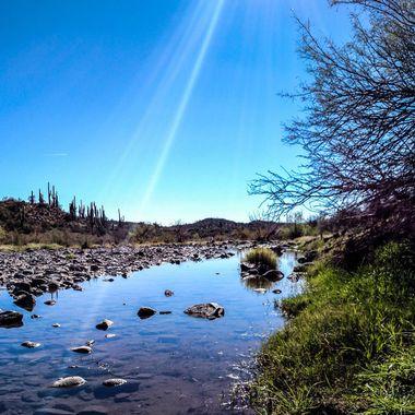 Cave Creek near Cave Creek, AZ.