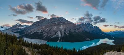 Payto Lake Banff National Park Canada