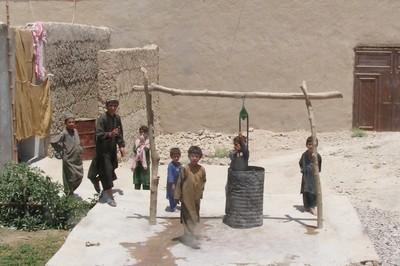 Afghan children in Tarin Kowt Afghanistan