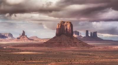Navajo Territory by Theo-Herbots-Fotograaf