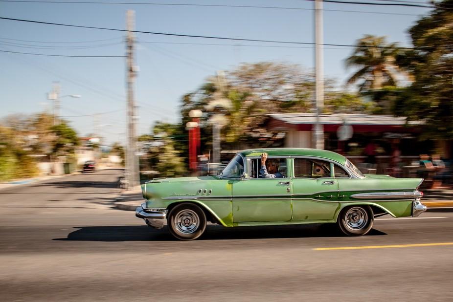 Cuban car in Varadero