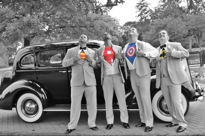 The Groomsmen Heroes..