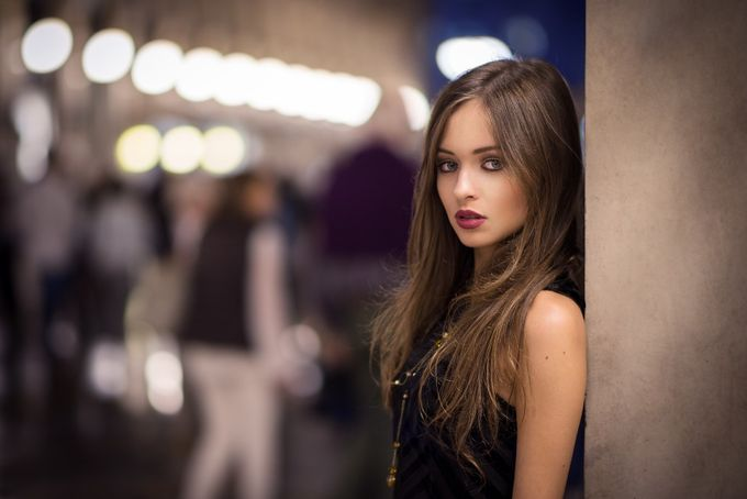 Sabrina by lucafoscili - People At Night Photo Contest