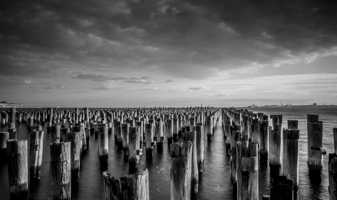 The Old Princess Pier by AshThomson - Composing with Patterns Photo Contest