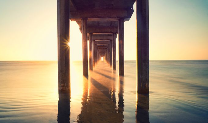 Tunnel of Light  by manueladurson - The View Under The Pier Photo Contest