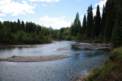 North of Elkford BC